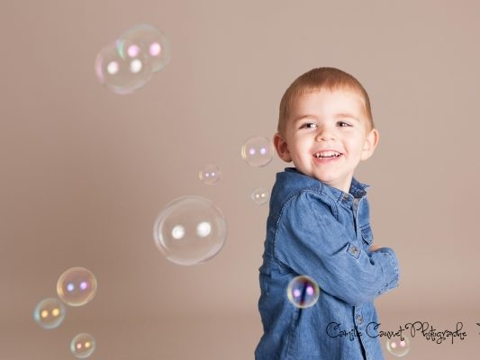 photo enfant bulles studio 77