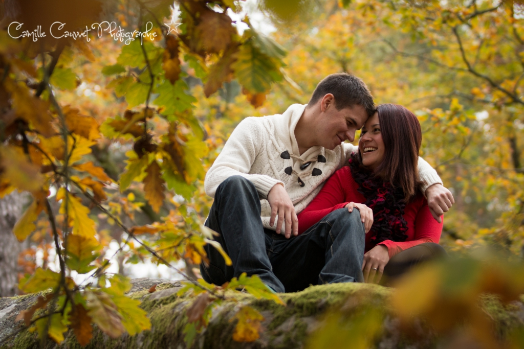 photo couple foret 77