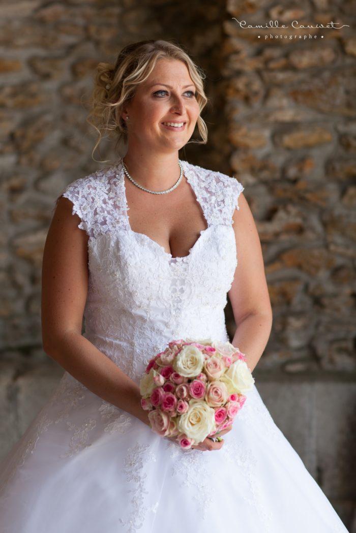 mariée et bouquet 77