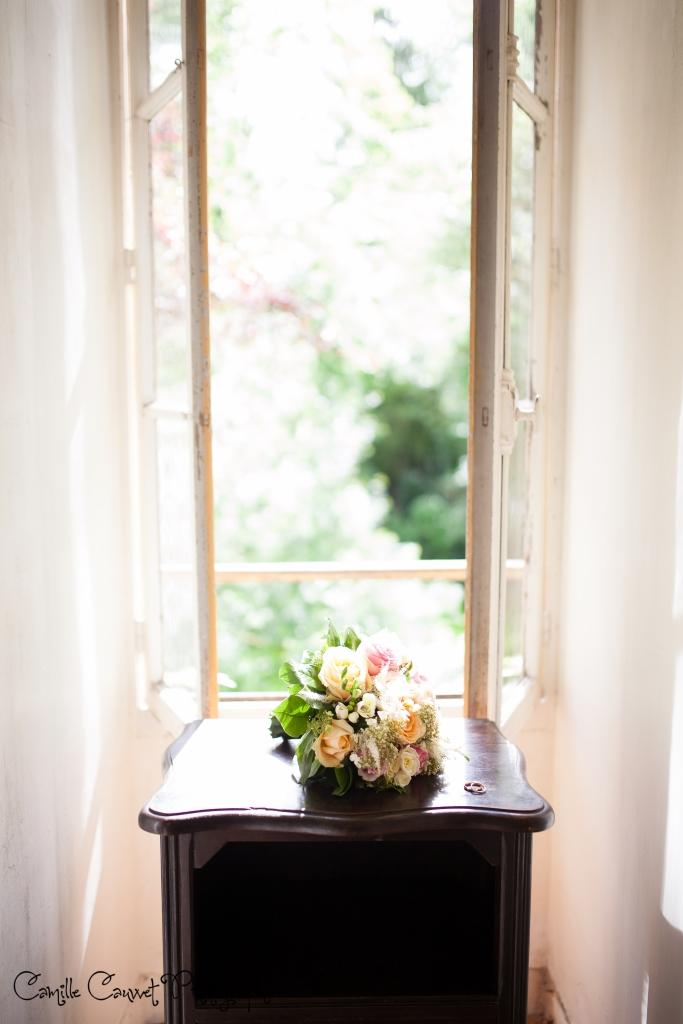 photo bouquet mariage champeaux 77
