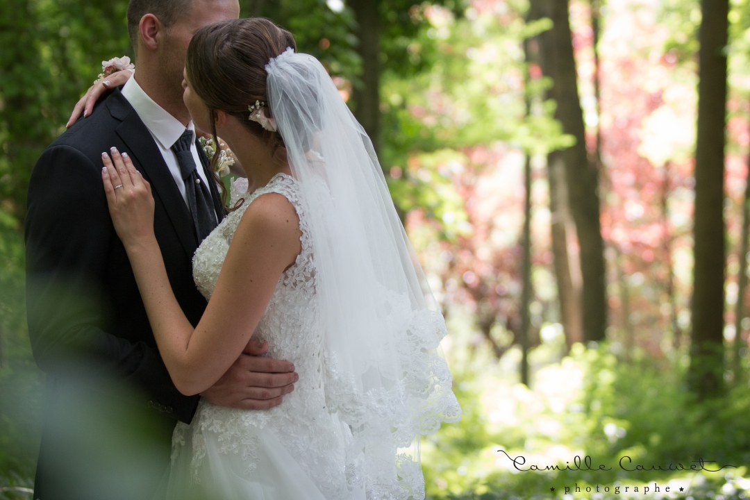 couple mariage foret 77