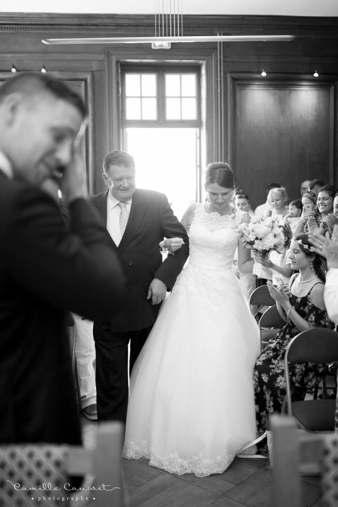 photographe mariage mairie de boissise le roi