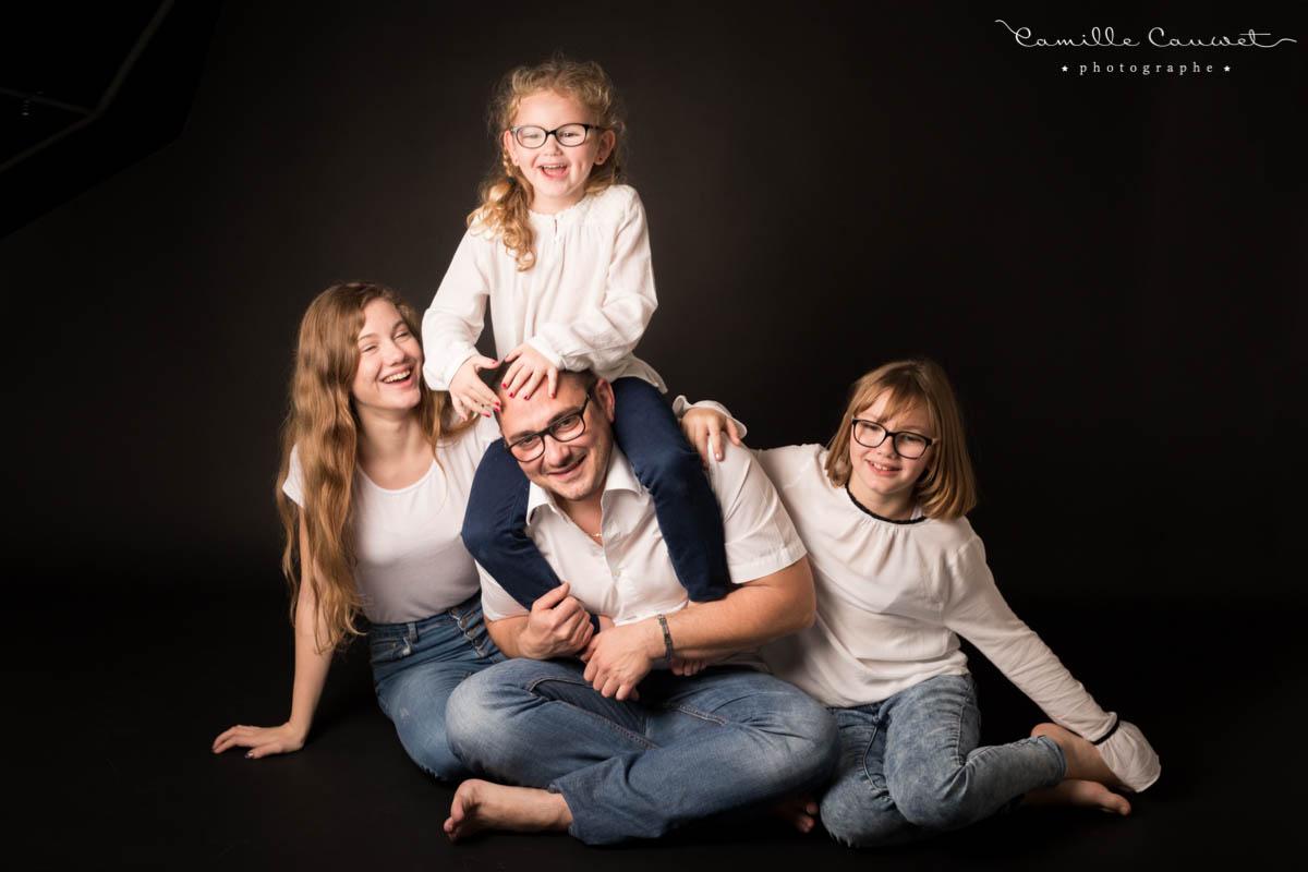 photo famille studio 77