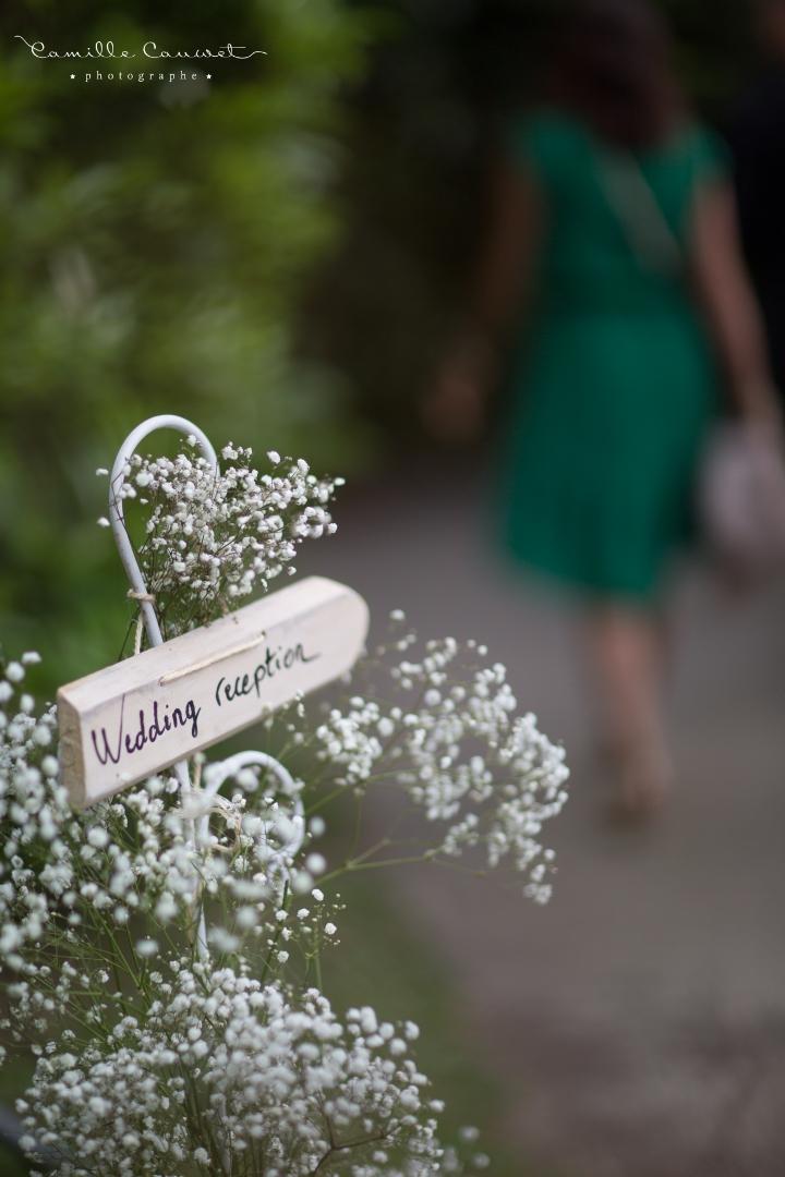 mariage fête pancarte