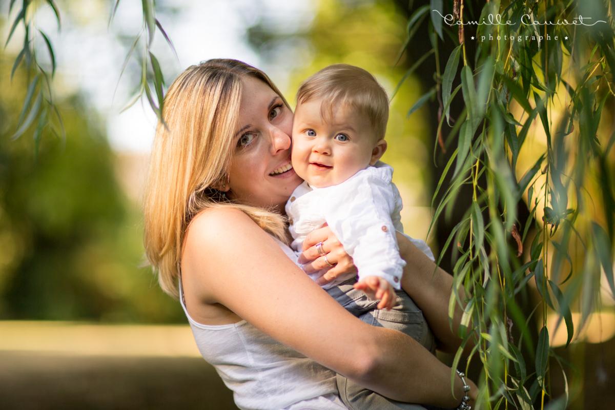 photo maman bébé famille