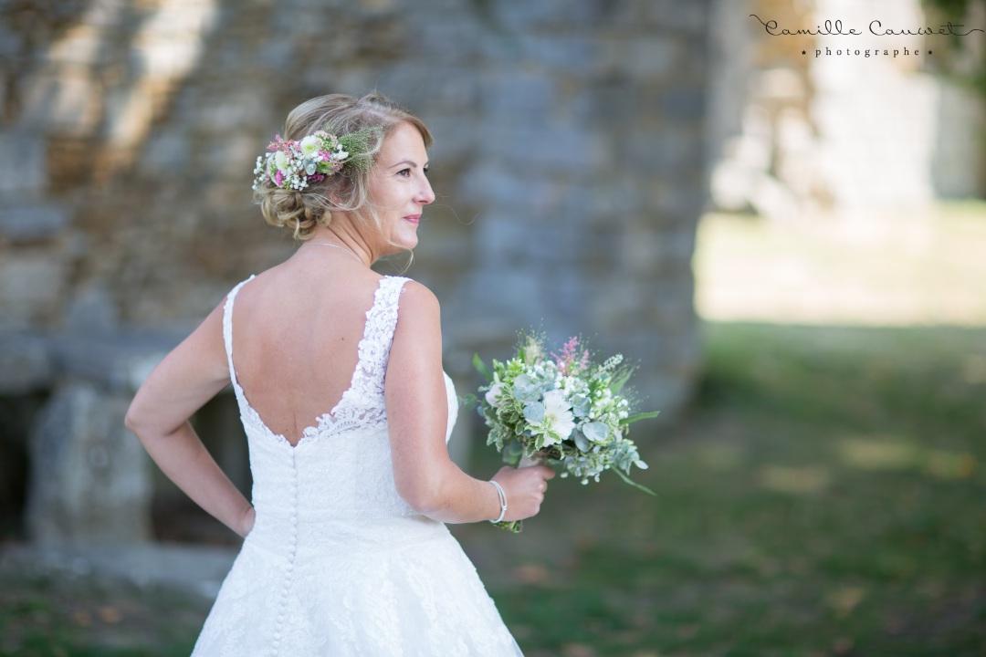 mariée bouquet