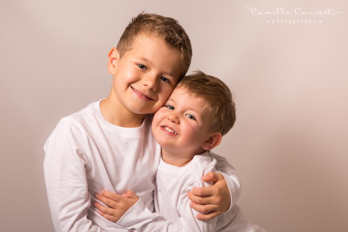 portrait enfants frères