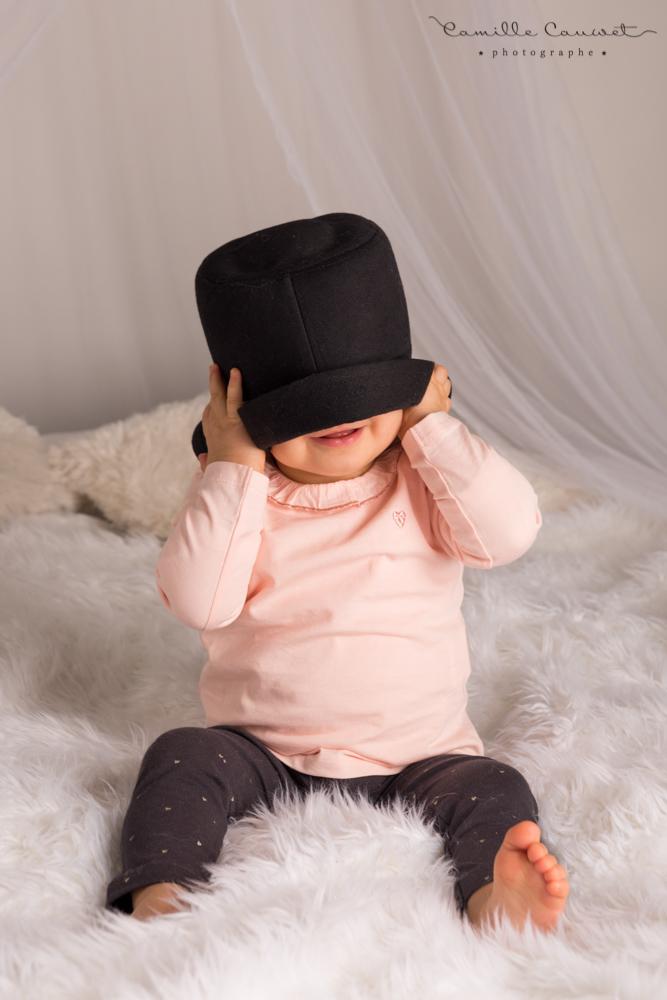 bébé chapeau studio