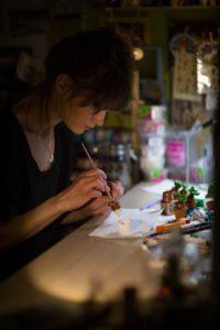 photographe corporate pour entreprise artiste atelier modelage 77