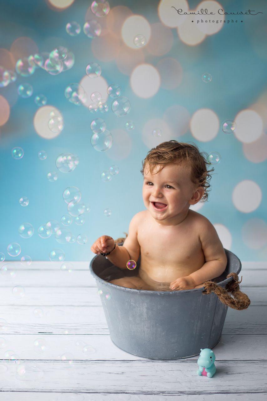 enfant et bulles