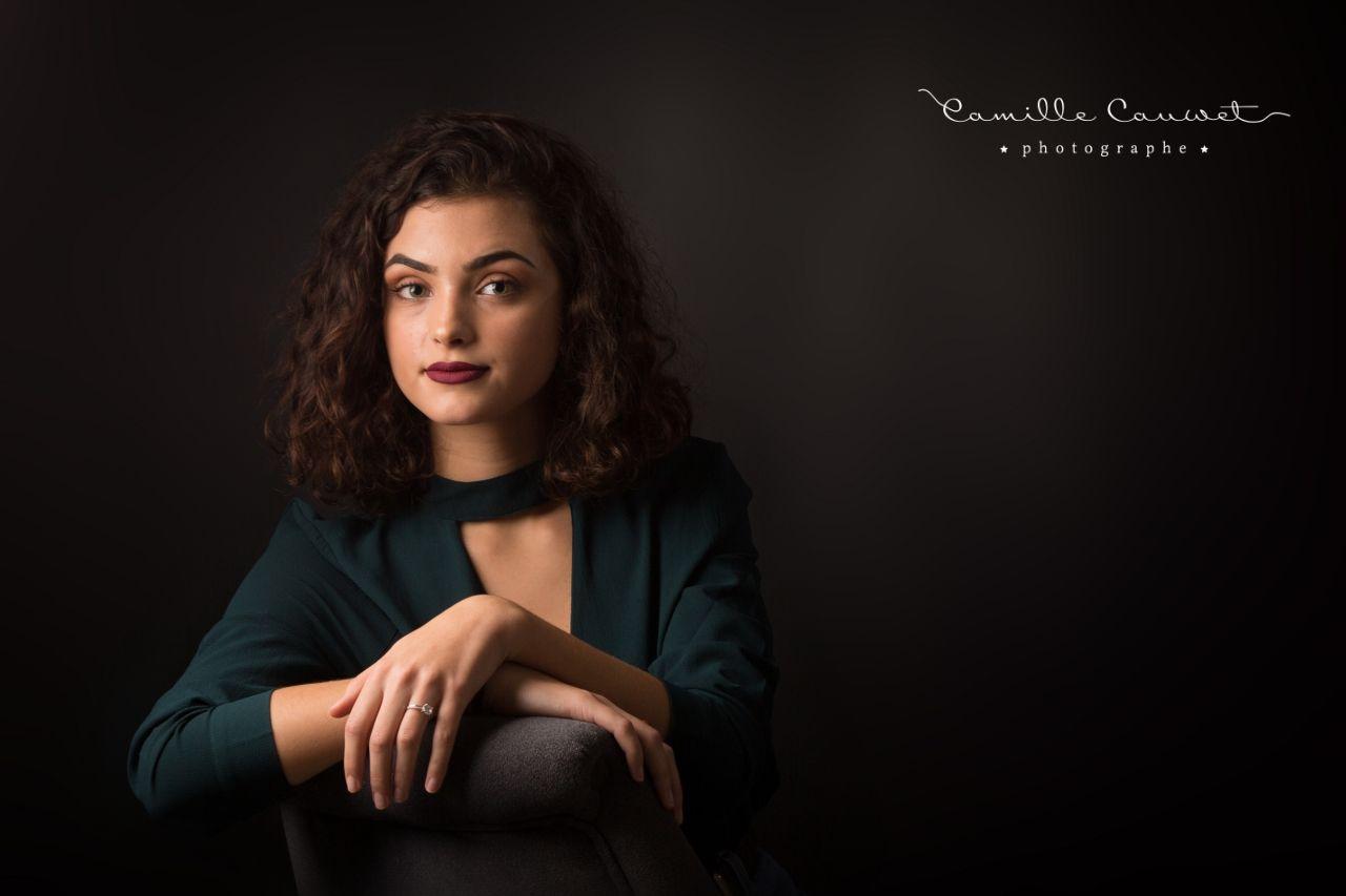 jeune femme studio