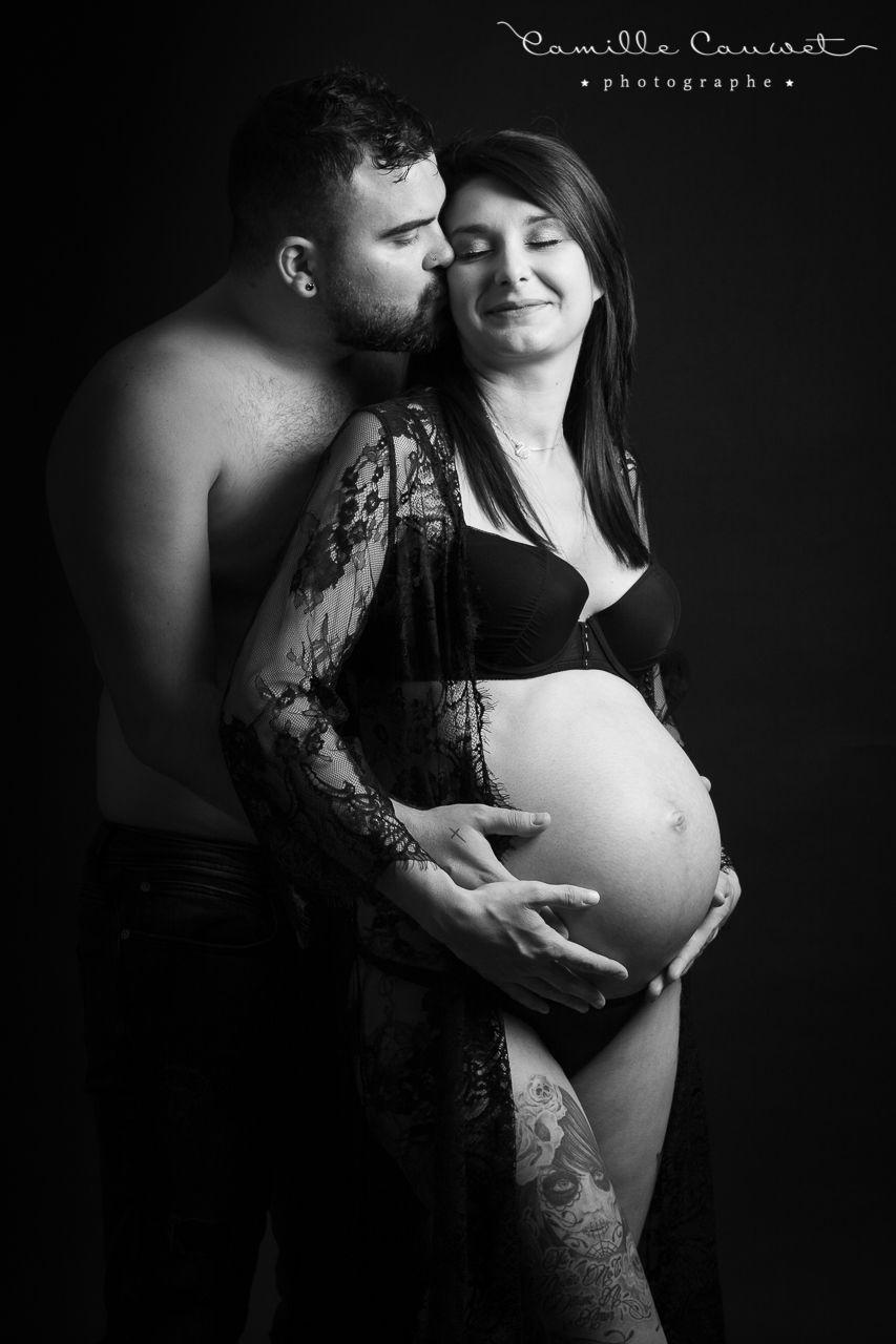 couple avec femme enceinte