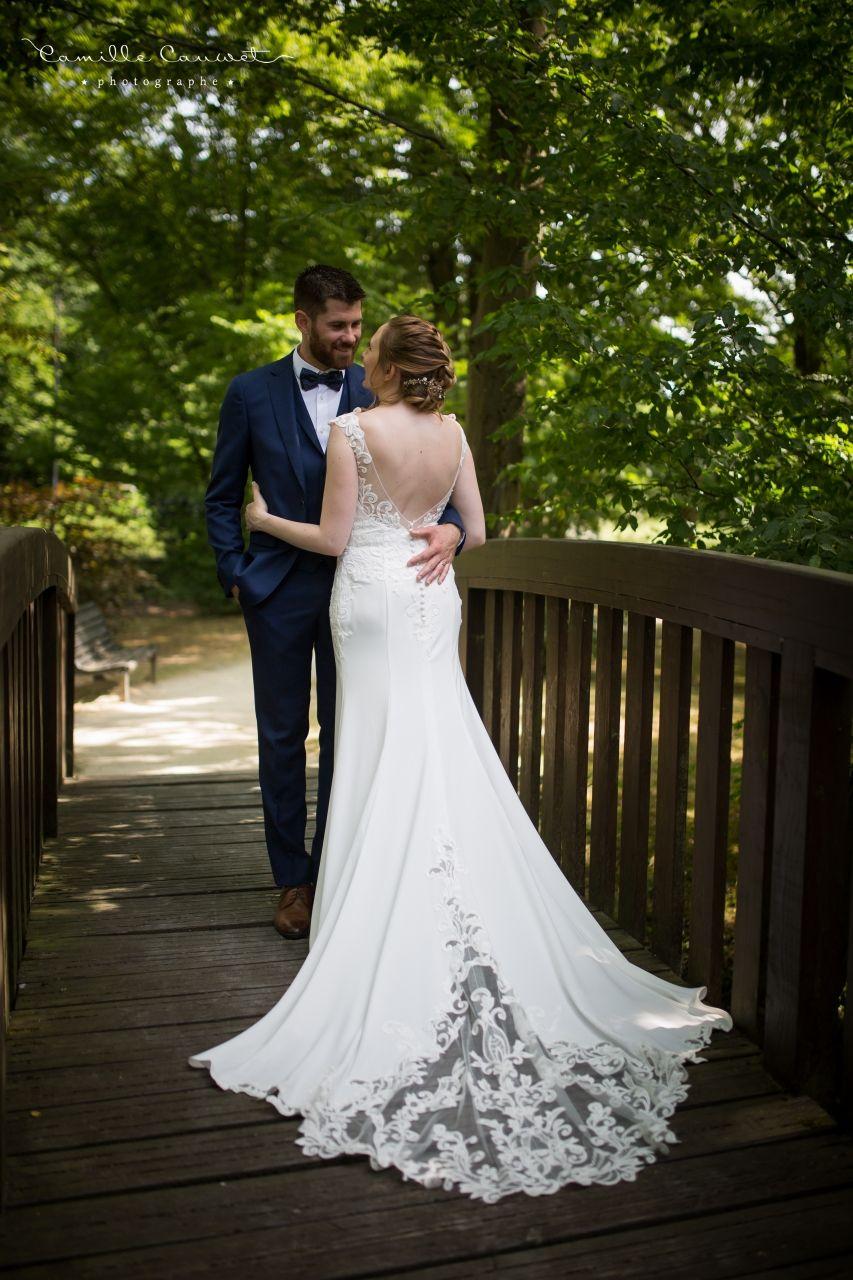 couple mariés pont le plessis trévise