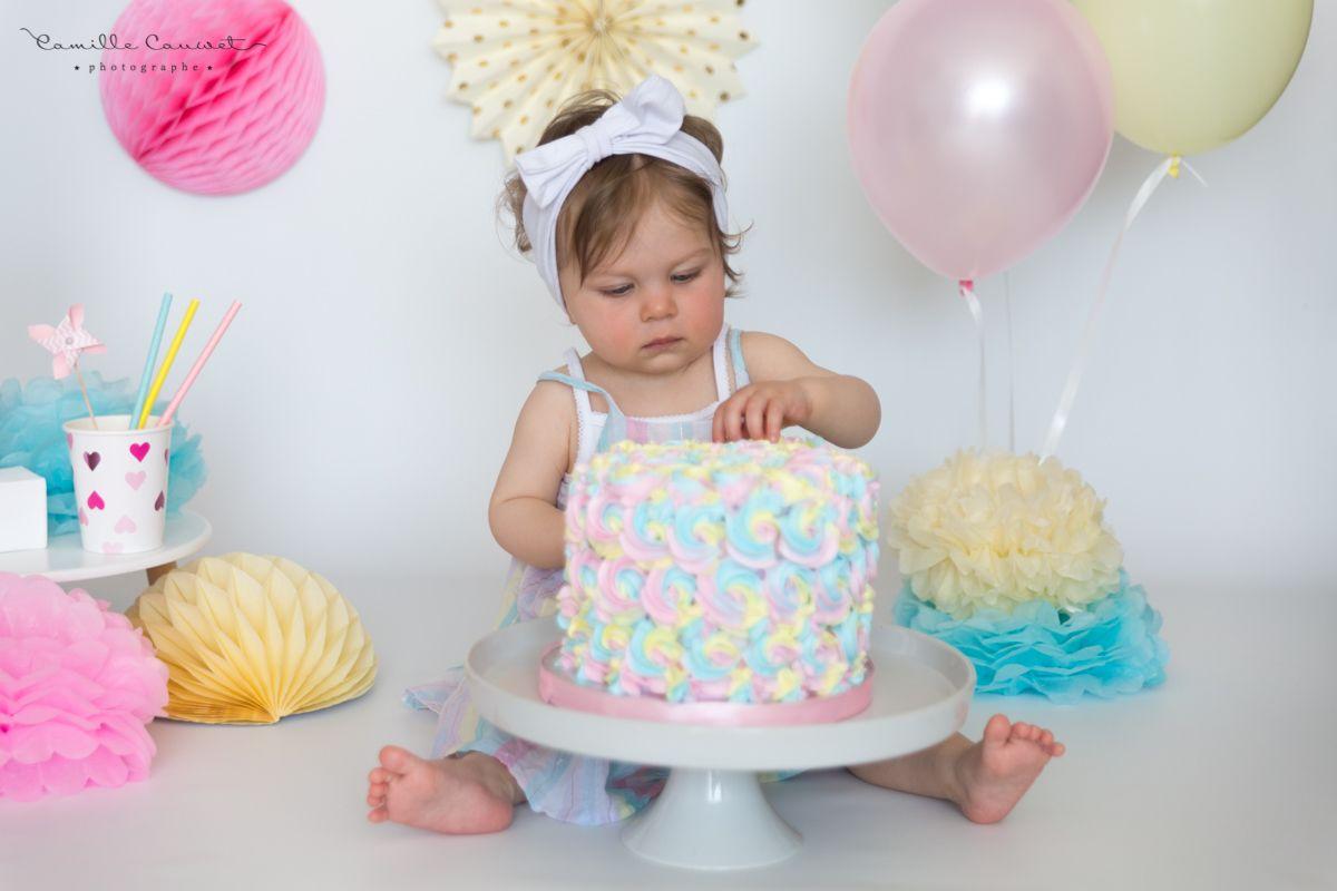 fille gateau anniversaire