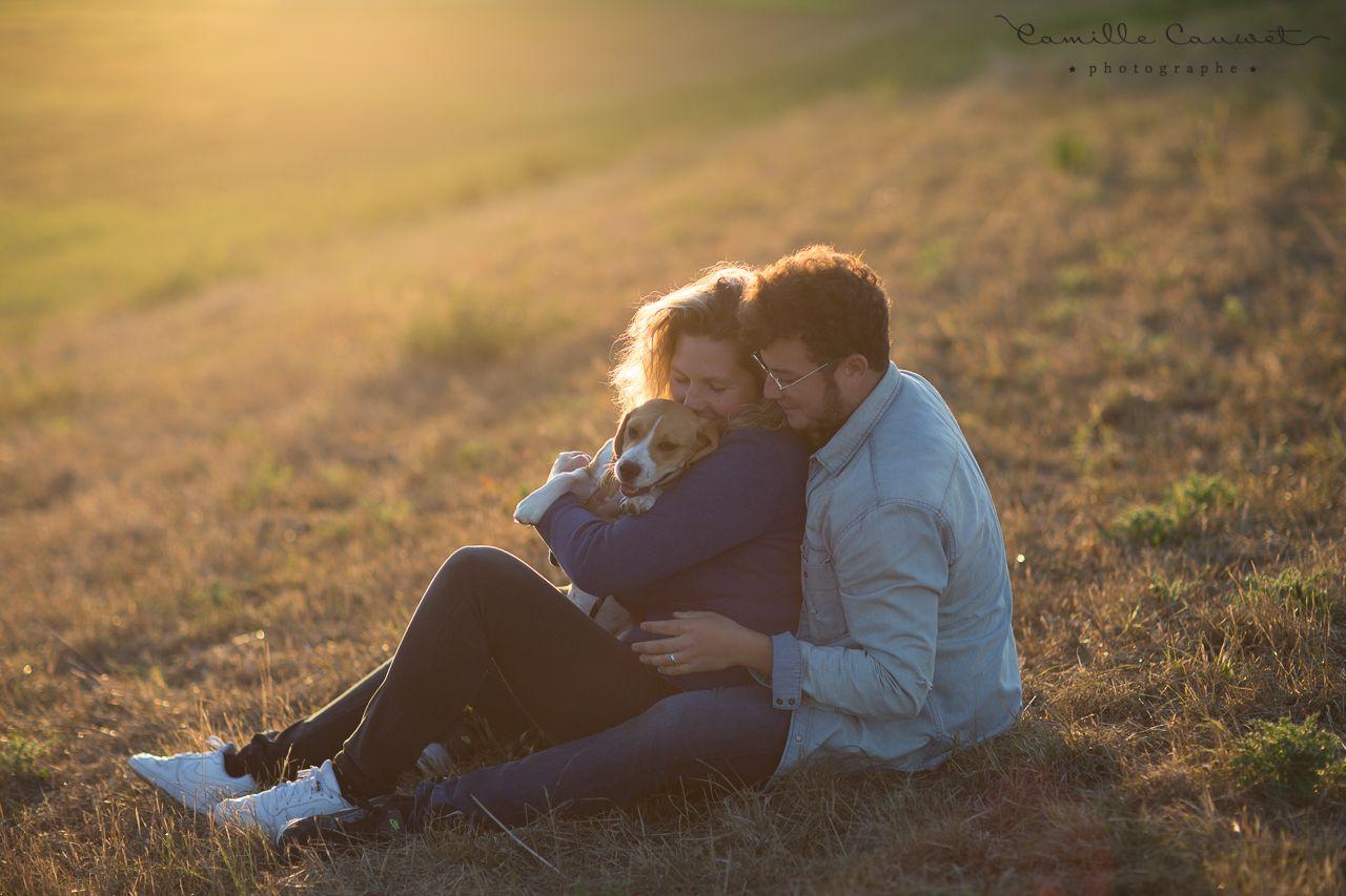 couple avec chien