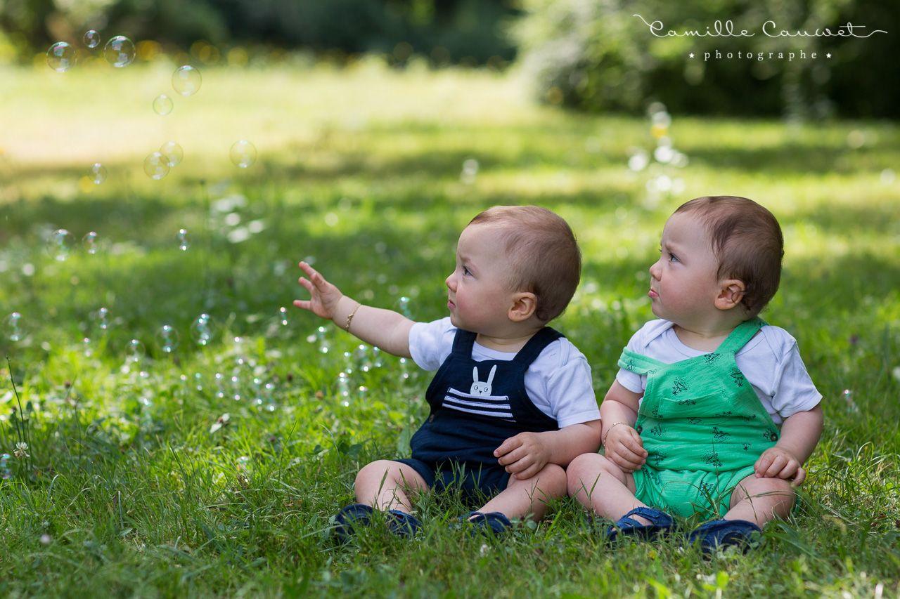 jumeaux au parc 77